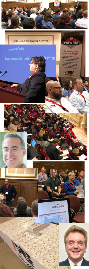 Montage of images from PDF Day DC