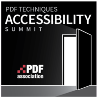 Logo for the PDF Techniques Accessibility Summit