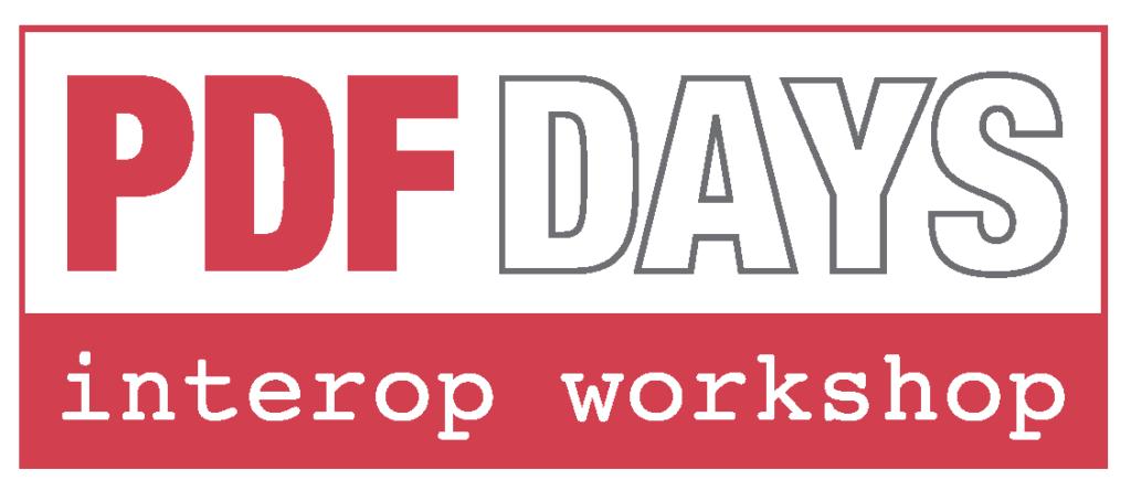 PDF Days Interop Workshop
