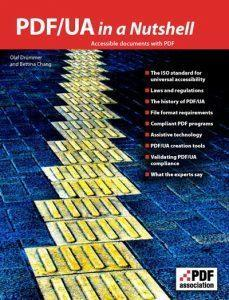 PDF/UA in a Nutshell cover