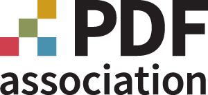 The PDF Association logo 2019